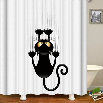 Various Cute Shower Curtains Funny Bath Shower Curtains ✈ Worldwide-Delivery