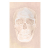 Skull Blush Diamond Dust | Canvas | Art by Type | Art | Z Gallerie