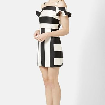 Women's Topshop Bardot A-Line Dress