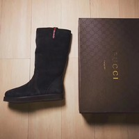 GUCCI Fashion Winter Fur Boots Shoes
