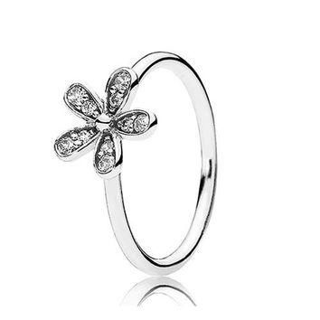 Authentic Pandora Jewelry - Dazzling Daisy Ring