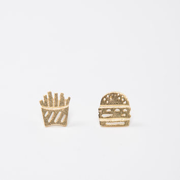 Combo One Stud Earrings