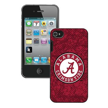 NCAA -  Iphone 44S Case Alabama Crimson Tide