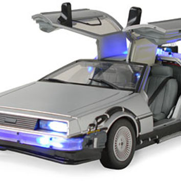 Back to the Future Lights and Sound Mark II Delorean
