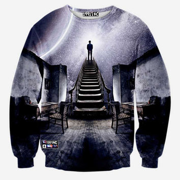 Edge of Space Pullover Sweater