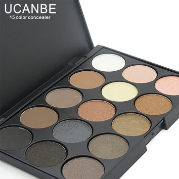 15 Earth Colors Matte Pigment Eyeshadow Palette Cosmetic Makeup set