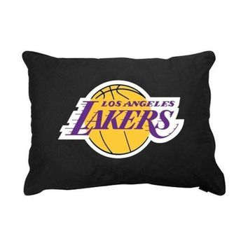 DCCKSX5 Los Angeles Lakers Dog Pillow Bed