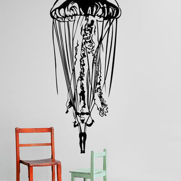 Vinyl Wall Decal Sticker Jelly Chute #1293