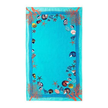 Lagon Beach Towel by Yves Delorme