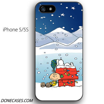 charlie brown christmas iPhone 5 / 5S Case