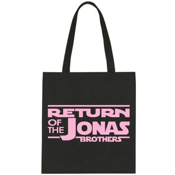 Return of the Jonas Brothers Tote Bag