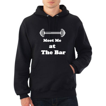 Meet Me at The Bar Hoodie (Multi Color Choices) Men or Women