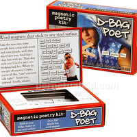 D-BAG POET MAGNETIC POETRY KIT