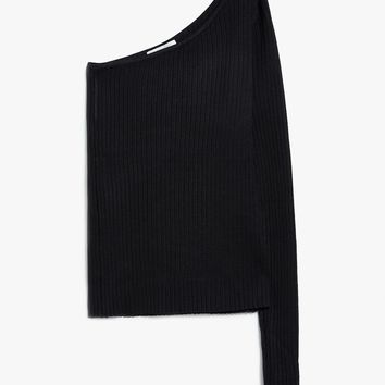Which We Want / One Sleeve Knit Top