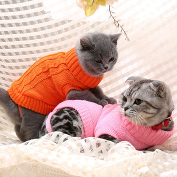 Fleece Kitty Sweater