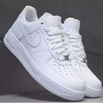 Nike Air Force 1 AF1 Men's and Women's Fashion Shoes F