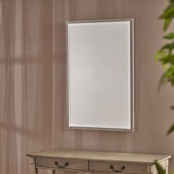 Raine Rectangular Wall Mirror by Christopher Knight Home - Clear - N/A | Overstock.com Shopping - The Best Deals on Mirrors