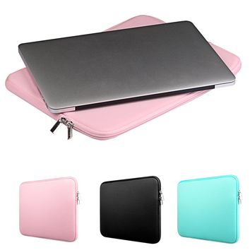 Besegad Carrying Storage Protective Laptop Sleeve Cover Skin Pouch Bag Case for MacBook Mac Book Pro Air 11 13 13.3 15 15.4 inch