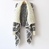 Big Casual Knitted Sweater