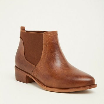 Chelsea Stretch Panel Booties (Wide Width)