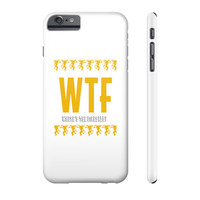 WTF WHERE THE FIREBALL Phone Case