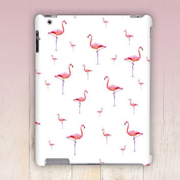 Flamingo iPad Case For - iPad 2, iPad 3, iPad 4 and iPad Mini, Fine Art Hard Case
