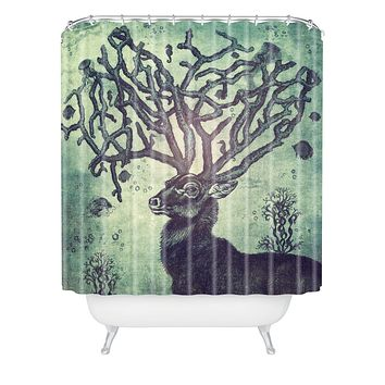 Belle13 Spirit Of The Sea Shower Curtain