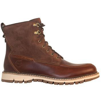 Timberland Earthkeepers Britton Hill - Brown Leather/Suede Lace-Up Boot