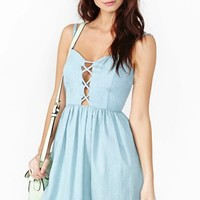 Dazed Chambray Dress