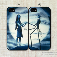 The Nightmare Before Christmas fashion original lover couple Case cover for 4 4s made of the latest material Alternative Measures