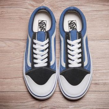 Trendsetter Blends x Born Free x Vans Vault Old Skool Canvas Sneakers Sport Shoes