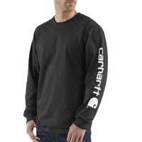 Carhartt Signature Sleeve Logo T-Shirt - Long-Sleeve - Men's