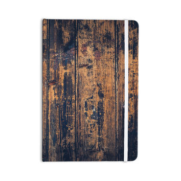 "Susan Sanders ""Barn Floor"" Rustic Everything Notebook"