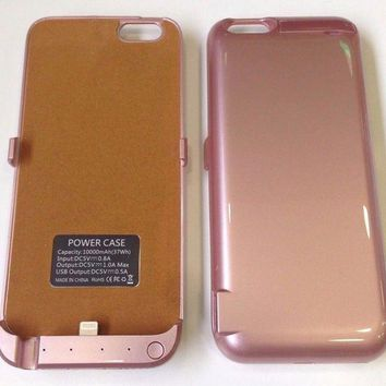 Power Case 10000mah External Power Battery Charger Case For Iphone 6 6s