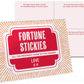 FORTUNE STICKY LOVE NOTES