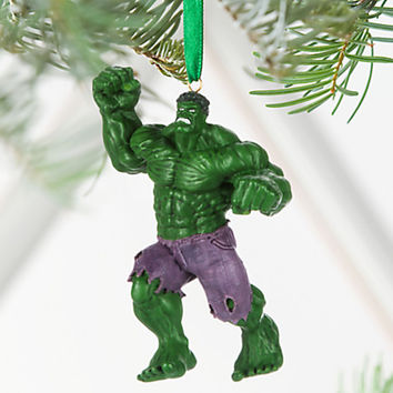 Disney Store 2016 Marvel Hulk Sketchbook Christmas Ornament New Tags