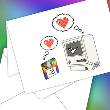 Mac Love - A nerdy Valentine for your nerdy Valentine