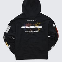 Alexander Wang SPONSORED HOODIE TOP | Official Site
