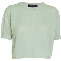 Isabel Marant Chai short sleeve cashmere sweater