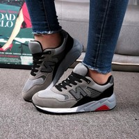 Hot Deal Professional Hot Sale Comfort On Sale Korean Sneakers Shoes Stylish Couple Jogging Shoes [11884155475]