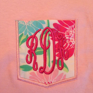 Lilly monogram Frocket