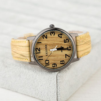 Good Price Awesome Trendy Great Deal Gift New Arrival Designer's Vintage Quartz Stylish Fashion Watch [4933059652]