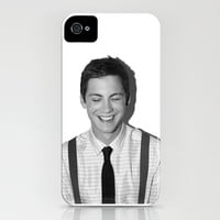 logan lerman iPhone & iPod Case by calm oceans™