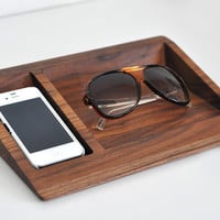 iPhone Dock + Glasses Stand