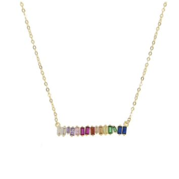 Colorful Bar Necklace