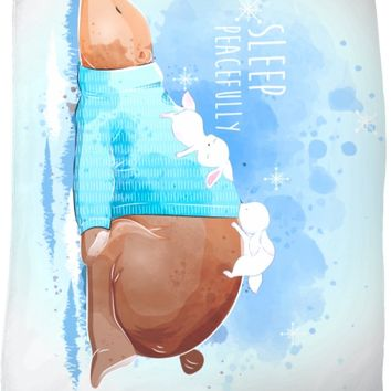 ROFB Sleep Peacefully Fleece Blanket