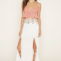 Z and L Europe Slit Maxi Skirt | Forever 21 - 2000171729