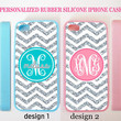 NEW PERSONALIZED CHEVRON (w/out glitter) MONOGRAM CASE FOR IPHONE 6 4 4S 5 5S 5C