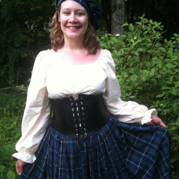 Complete Scottish Highland Lass Costume