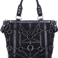 Dark Side Gothic O-rings & Black Harness Design Witchcraft Tote Bag